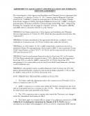 외투법인 판매대리점 계약서(영문)