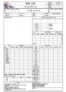 봉제 사양서(패션 섬유 의류 나염업체 품질경영메뉴얼)
