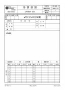 교육보고서(사내)(패션 섬유 의류 나염업체 품질경영메뉴얼)