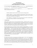 관세서비스 계약서 (영문)