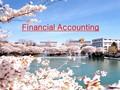 재무회계서론(Financial Accounting)