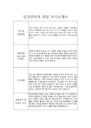 민간부사관 취업 자기소개서