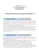 고객관리영문 자기소개서(홈쇼핑)(신입)