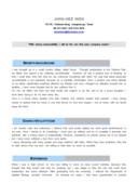 연구원 영문 자기소개서(유전공학)(신입)