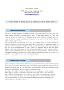 아르바이트 영문 자기소개서(사무보조)(신입)