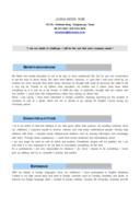해외영업 영문 자기소개서(신입)