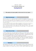 해외영업 영문 자기소개서(경력)
