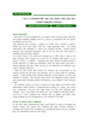 제약영업 영문 자기소개서(경력)