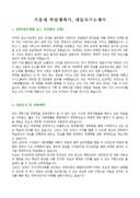 서울대학교 학업계획서(경영대학원)