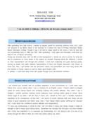 사무 영문 자기소개서(사회활동)(신입)