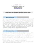 사무 영문 자기소개서(회계 파트타임)(경력)