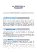 보험사무 영문 자기소개서(경력)