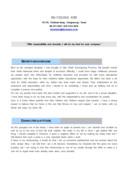 회계 사무 영문 자기소개서(신입)