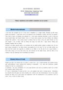 데이터베이스 관리영문 자기소개서(경력)