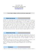 영문자기소개서(대한항공 승무원)(신입)