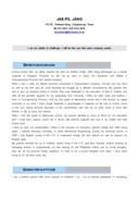 영업 영문 자기소개서(금속)(경력)
