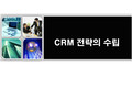 CRM 전략의 수립