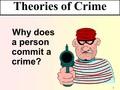 살인범죄에 관한이론