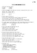 2010년 11월 바리스타 2급 필기 기출문제