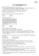 2008년 11월 바리스타 2급 필기 기출문제