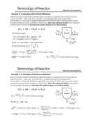 Terminology ofReaction (영문)