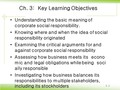 Themeaning of corporate social responsibility (영문)