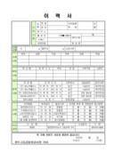 방호직 공무원 및 청원경찰 자기소개서 예문(2)