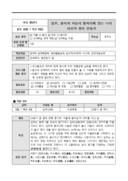 교수 학습 계획안(나만을 위한 아로마양초만들기체험 활동)
