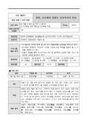 교수학습 계획안(망종 단오제와 김홍도 신윤복과의 만남)