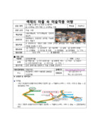초등 교과연계 체험 학습 지도안(색채의 마을 속 미술작품 여행)