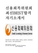 신용회복위원회 자기소개서 합격 예문