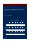 고객만족도조사표 (영문)