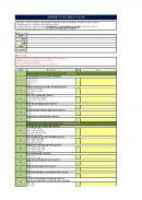 협력업체 FTA업무 활용능력 점검표